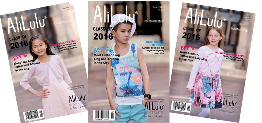 teenage photo shoot Nottingham with a magazine styled theme
