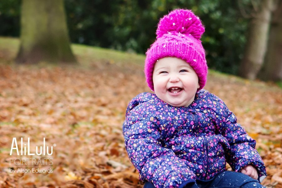 family photo shoot family autumn photo of 1 year old girl