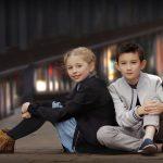 tween and teen photo shoot Nottingham boy and girl sitting on floor