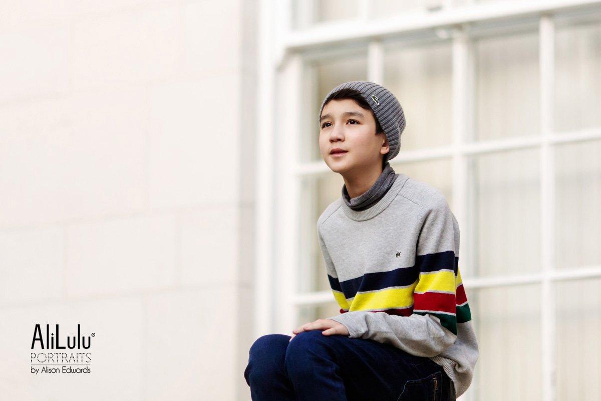 teenage boy portraits Nottingham