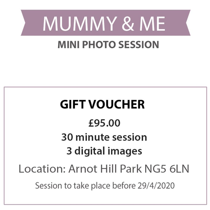 mummy and me photo offer