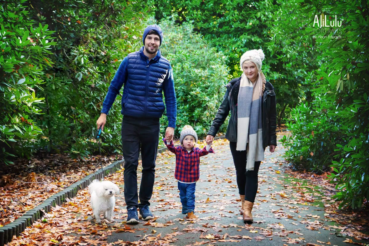 family pictures with your dog at wollaton park